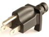 NEMA 5-15P Plug with Cord Grip -- UC-04E