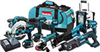 LXT902 - 18V LXT® Lithium-Ion Cordless 9-Pc. Combo Kit -- LXT902