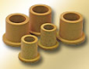 PTFE BJ5 Flanged Bearings - polymer reinforced