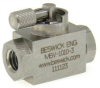 Ultra Miniature Mixing & Diverting Ball Valve -- MBVMD - Image