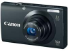 Canon Powershot A3400 Black 16mp 5x (28-140mm) Optical Zoom 3in Touch Panel LCD Camera w/ 720p HD Video -- 6185B001