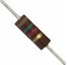Carbon Composition Resistor 1500 Ohms 0.5W -- 78507497726-1