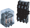 Electromechanical Industrial Plug-in Relays -- MJN