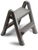 RUBBERMAID Two-Step Folding Step Stool -- Model# FG4209-03