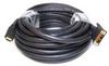 HDMI-DVI Cables,Black,50 ft.,22AWG -- 5RFH1