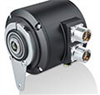 Absolute Heavy Duty Encoder with Intergrated Speed Switch -- HMG 10