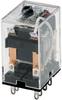 SZR-MY General Purpose Relay: Standard Relay; Plug-in/Solder Terminal; DPDT; 12 Vdc -- SZR-MY2-1-DC12V -Image