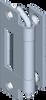120 deg; Concealed Hinge -- 1032-U6