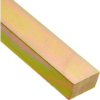 Low Carbon Steel Rectangular Keystock, Gold Dichromate F…