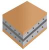 FARADFLEX® Ultra Thin Advanced Electronic Material, MCxxTM -- MC8TM, MC12TM