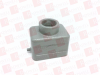 HARTING 09-30-006-1441 ( TOP ENTRY HOOD, SIZE 6B, METAL; PRODUCT RANGE:HAN B SERIES; CABLE EXIT ANGLE:90 ; CONNECTOR BODY MATERIAL:ALUMINIUM BODY; FOR USE WITH:HAN 6B INSERTS ) -Image