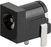 PCB terminals, Socket, 6.0 mm, 2-pole, DC Plug/Socket