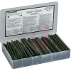 Tubing, Heat Shrink Kit; 2:1; 6 sz, 3/16 to 1 in. cut to 6 in. L in storage case -- 70092661