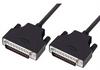 LSZH D-Sub Cable, DB25 Male / DB25 Male, 5.0 ft -- DSA00006-5F - Image