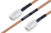 MIL-DTL-17 N Female to N Female Cable 36 Inch Length Using M17/128-RG400 Coax -- PE3M0067-36 -- View Larger Image