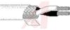 MULTI CONDUCTOR, TFE TEFLON INSULATE, 18AWG STRAND (19X30), 2 COND WHITE -- 70005517