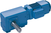 Right Angle Gearmotors -- W**100 QD ZBA 132 C 6-Image