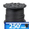 FLEX CORD 250ft 12AWG 3-COND TYPE SEOOW 600 VOLTS -- SEOOW-12-3BK250