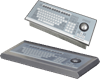 Zone 2 keyboard with mechanical trackball mouse -- TA3/EXTA3-*-K3-*