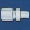 Jaco - Kynar, Nylon, And Polypropylene Tube And Hose Connector Fitting -- 61023 - Image