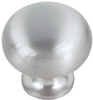 Solid Steel Knob -- 81339 72 153