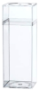 Clear Plastic Boxes with Lids -- 55372 - Image