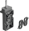 Air solenoid valve -- NVF3-MOH-5/2-K-1/4 -Image