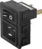 IEC Appliance Inlet C20 -- 6136 Series