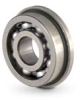 Flanged Ball Bearings-Open Type - Metric -- BB#LFXML521XX