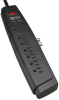 7-Outlet Home/Business Theater Surge Protector, 6-ft. Cord, 1500 Joules, Coaxial Protection -- HT706TV