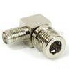 RA SMA Female (Jack) to QMA Male (Plug) Adapter, 1.4 VSWR -- SM5576 - Image