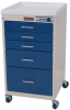 Mini-Line Five Drawer Cart with Mechanical Combination .. -- 3145M -- View Larger Image