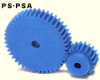 48mm PD Plastic Spur Gears -- PS2-24-Image