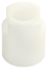 Fisnar 561129 Plastic Cartridge Adapter Nut White -- 561129 - Image