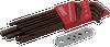 13 Pieces SAE Stubby Long Arm Ball S2 Hex Key Set -- 68913SB - Image