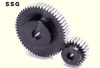 72.5mm PD Ground Spur Gears -- SSG2.5-29-Image