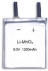 3.0V/1200mAh Primary Lithium Manganese Dioxide/Cr/LiMnO2 Battery for RFID/Sensor and Medical Device -- CR502441-1200