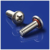 SEELSKREW® Type SM Slotted Metric Pan Head Screw -- M4