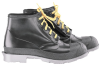 Onguard 86104 Black 10 Chemical-Resistant Boots - 6 in Height - Polyurethane/PVC Upper, Polyurethane/PVC Sole and Steel Toe Cap - 791079-10803 -- 791079-10803 - Image