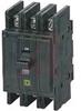 Circuit Breaker, Miniature, 3-Pole, 40A, 240VAC, Mtg.Flush/Surface or DIN -- 70060625