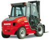 Masted Semi-industrial Forklift, Manitou -- MSI 30 T