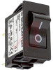 Circuit Breaker; 15 A; 125/250 VAC; Quick-Connect; 1.5 kV (Min.); Black -- 70160369