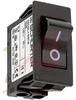 Circuit Breaker; 15 A; 125/250 VAC; Quick-Connect; 1.5 kV (Min.); Black -- 70160369