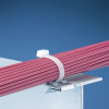 Tie Mounts : Mounts Used With Cable Ties : Metal Edge Clip -- MCMS30-P-C