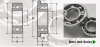 Radial Open Flanged & Unflanged With Extended Inner Ring Miniature Inch Bearing