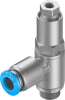 Piloted non return valve -- HGL-1/8-QS-6