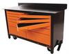 Rolling Workbench,60x24.25x39.25,12 Drwr -- 26X204