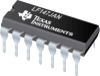 LF147JAN Wide Bandwidth Quad JFET Input Operational Amplifier -- JL147BCA - Image
