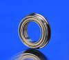 Flanged Shielded Extra Thin Metric Bearings -- F6809ZZ