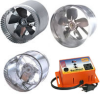 Suncourt Duct Booster Fans & DS100 Thermostat -- DS100